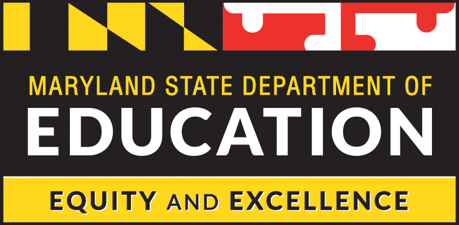 Maryland State Department of Education logo, Equity and Excellence